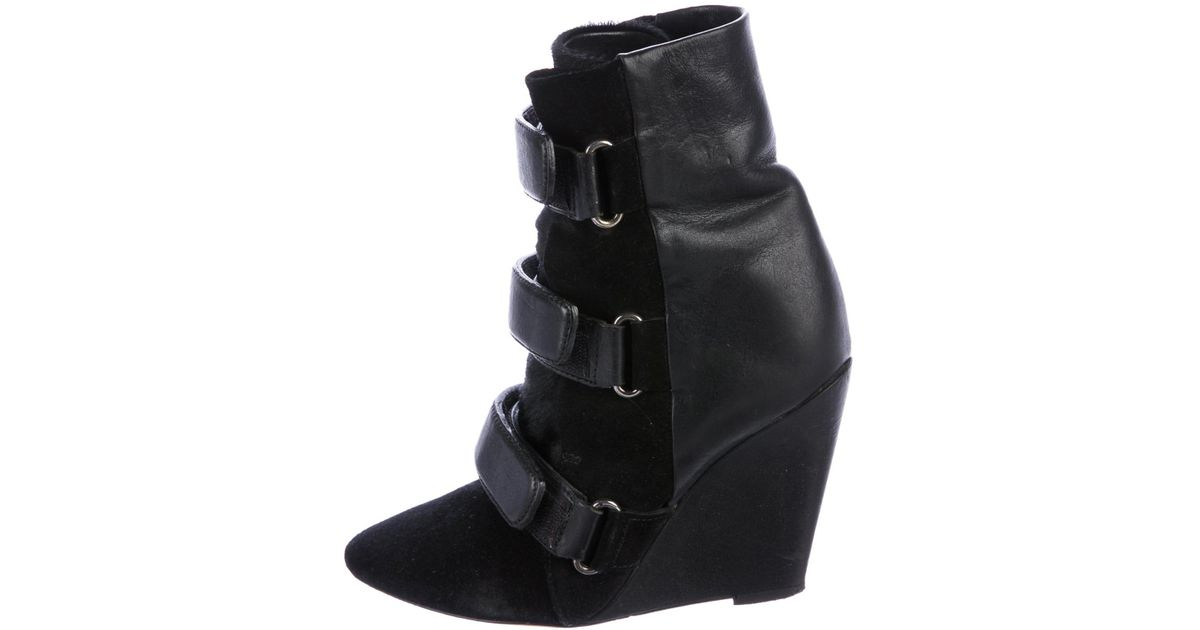 Isabel Marant Lance Pointed-Toe Ankle Boots outlet big discount vPp0rXiS