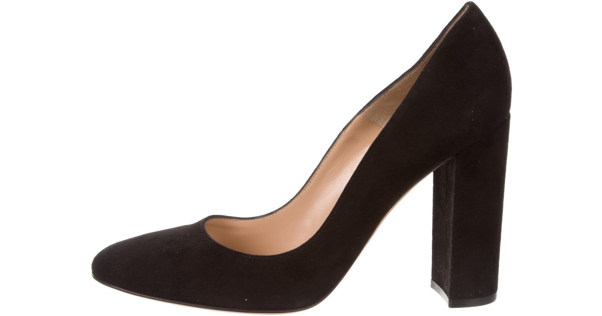 discount cost new online Gianvito Rossi Linda Suede Pumps w/ Tags cheap collections U8Dcy