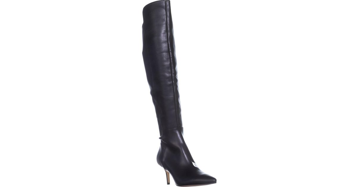 63254e1cdc0 Lyst - Marc Fisher Adana Over-the-knee Boots in Black