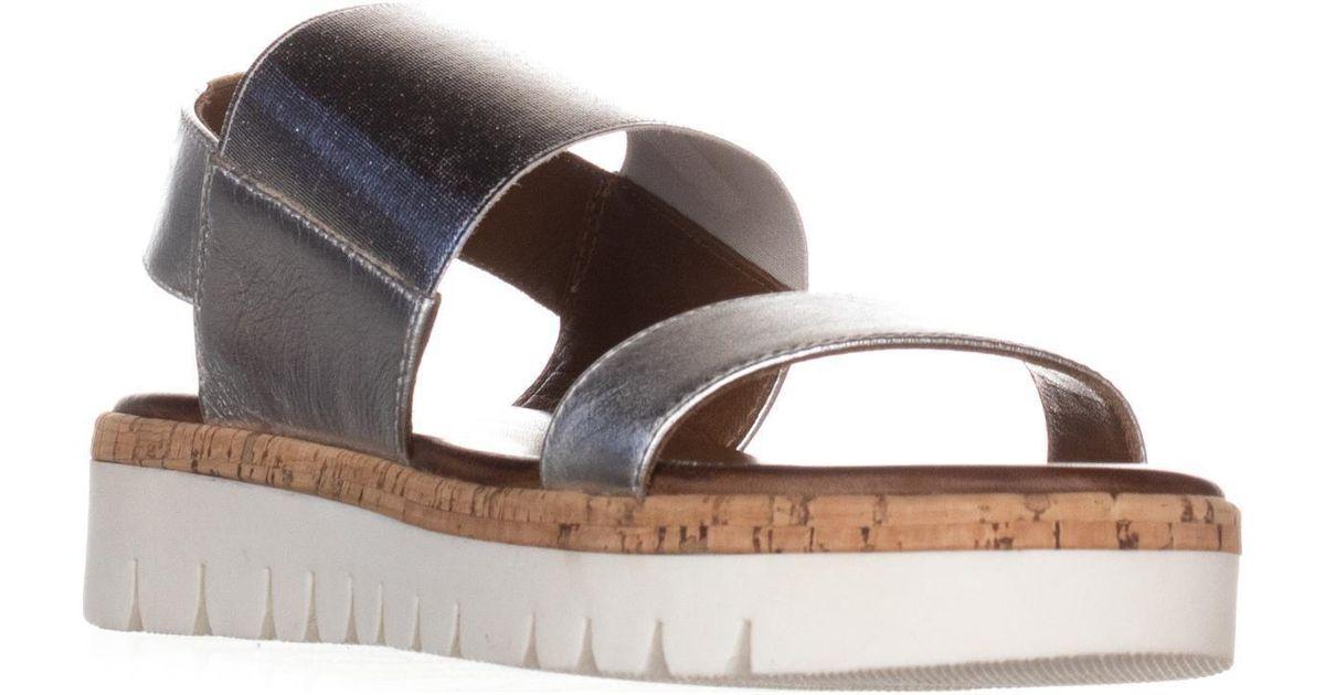 8287ffdc6dba Lyst - ALDO Toni Flat Platform Sandals