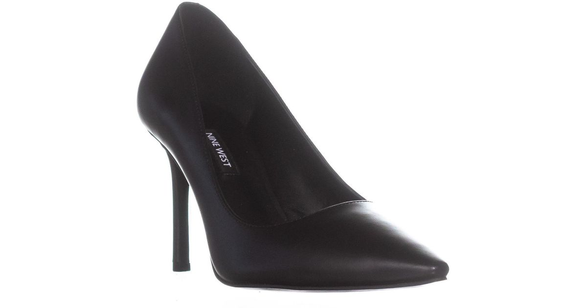 e95609e4d8 Lyst - Nine West Emmala Pointed Toe Classic Pumps in Black