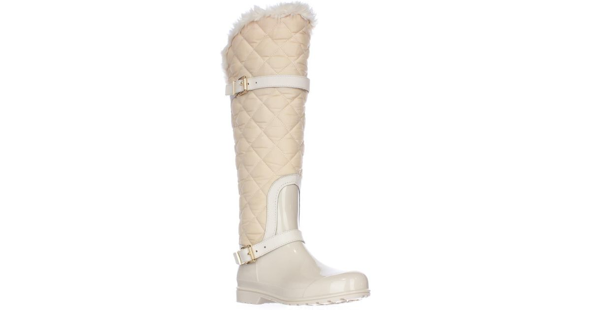 Michael Kors Michael Fulton Harness Quilted Tall Rainboots