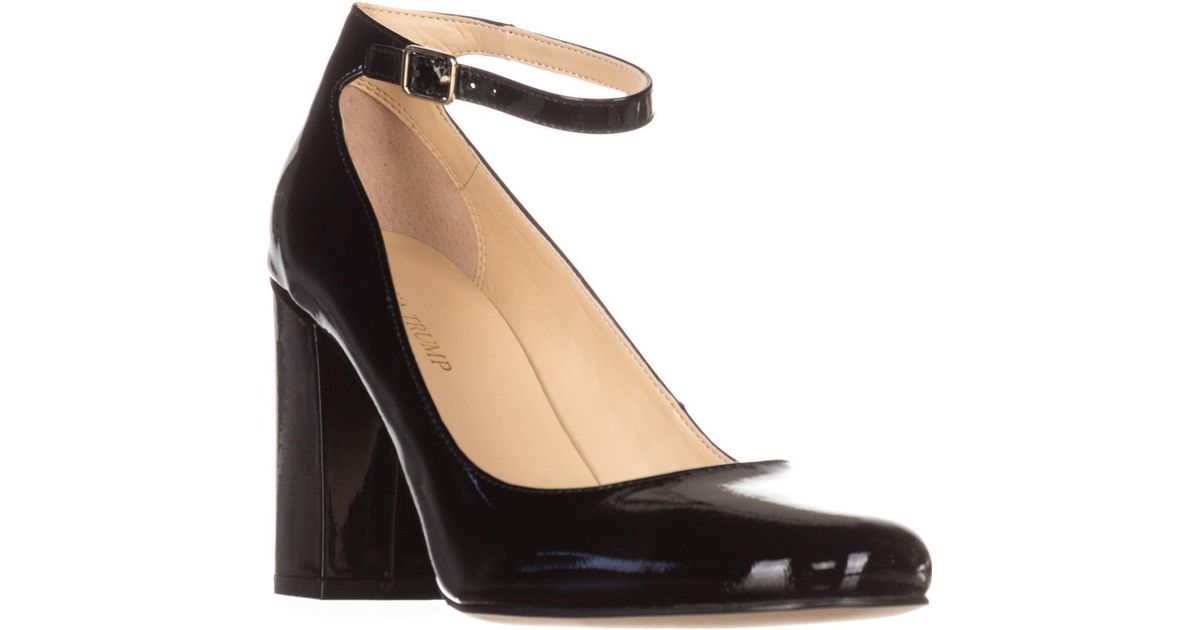 cba099b6ae4a Lyst - Ivanka Trump Oasia Ankle-strap Pumps in Black