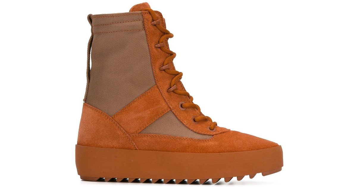 8785c918b73f9 Lyst - Yeezy Season 3 Military Boots in Orange