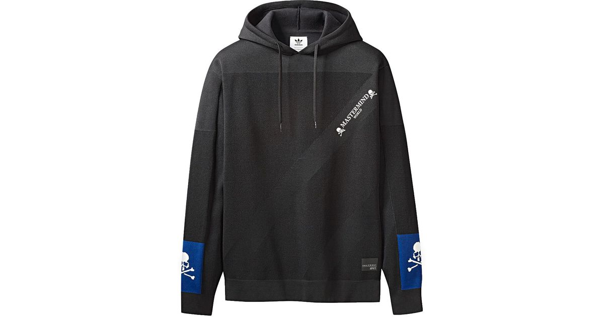 big sale 6b225 5ddd8 Lyst - Adidas Originals By Mastermind World Hoodie in Black for Men