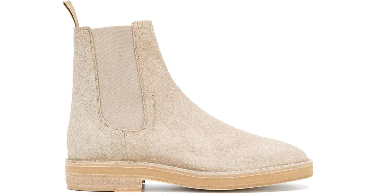9c420e0fd12 Yeezy Chelsea Boots in Natural for Men - Save 57% - Lyst