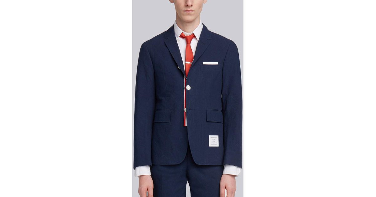 Thom Browne single-breasted sport coat Discounts Cheap Online Wide Range Of Cheap Online Cheap Sale Real Discount Manchester ktWIuN