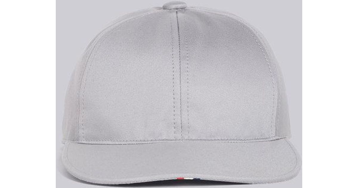 Lyst - Thom Browne 6-panel Baseball Cap With Red 7c9e736e0082