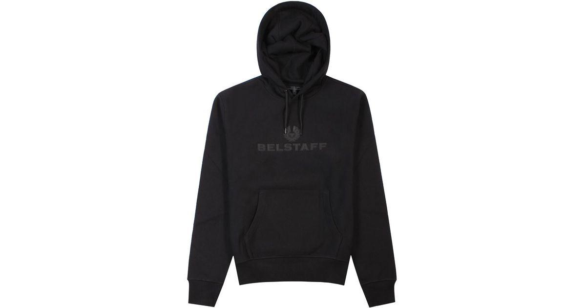 f8c2cbaee670 Belstaff Northview Hoodie Black in Black for Men - Lyst