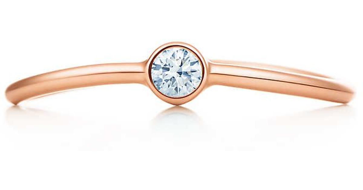 Elsa Peretti Wave single-row diamond ring in platinum - Size 5 Tiffany & Co. vEfKP