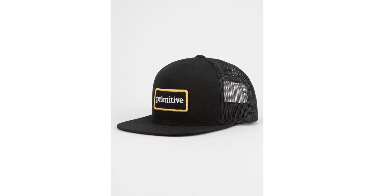 Lyst - Primitive Good For Life Mens Trucker Hat in Black for Men be8b7276139