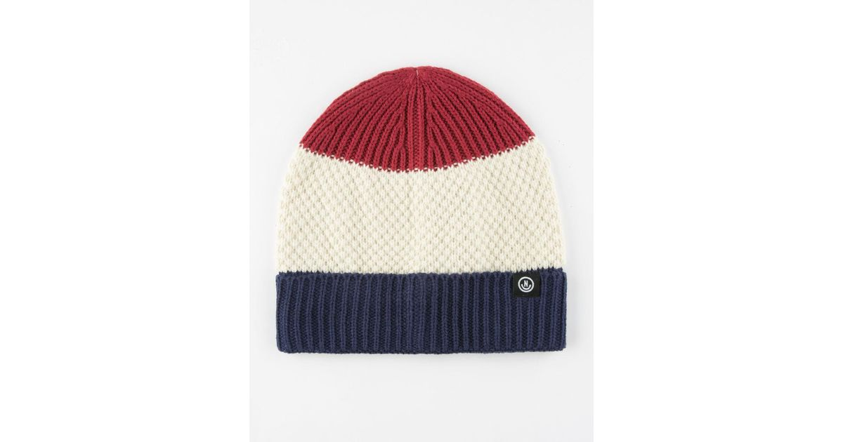 2e4dadfa22c Lyst - Neff Scrappy Beanie in Red for Men