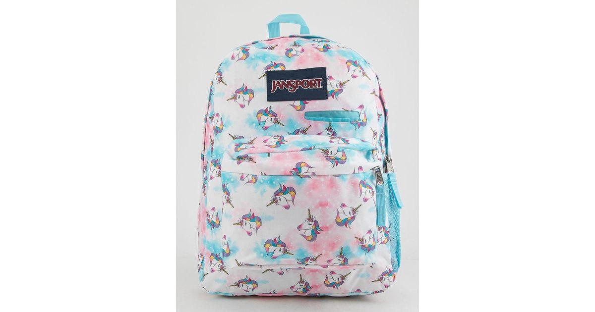 e22d8710a Jansport Digibreak Unicorn Clouds Laptop Backpack - Lyst