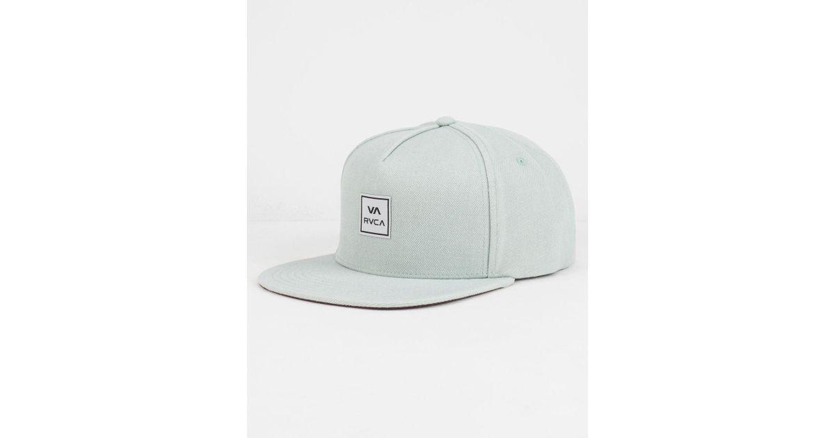 timeless design 5f4af ff807 Lyst - RVCA Ensign Mens Snapback Hat in Gray for Men
