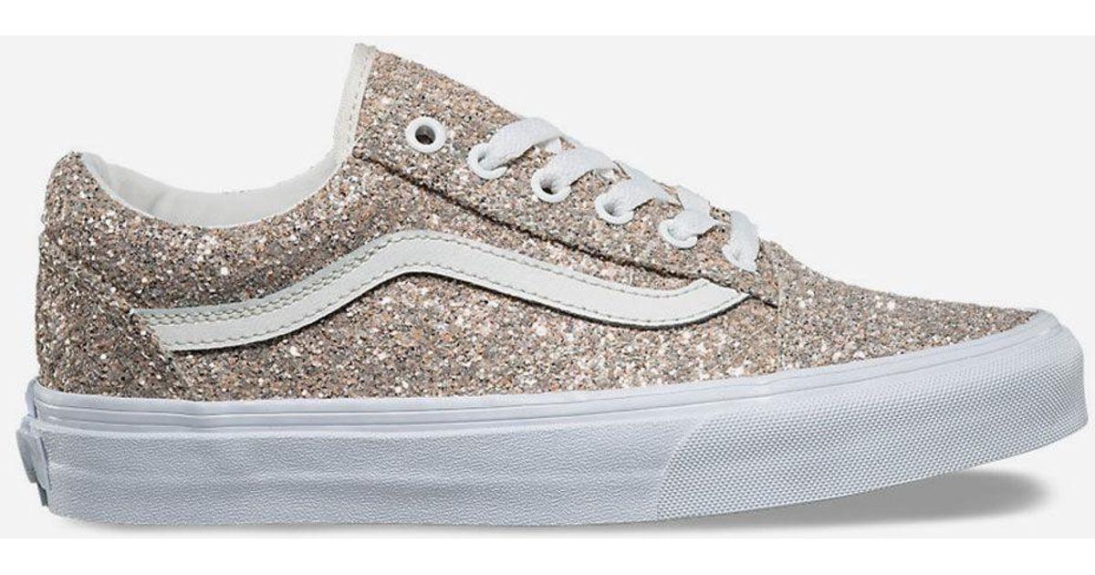 vans glitter shoes women