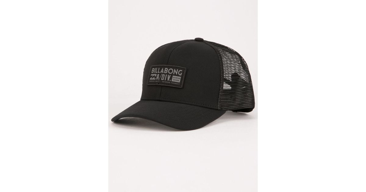 8a9767d7170 Lyst - Billabong A Div Mens Trucker Hat in Black for Men