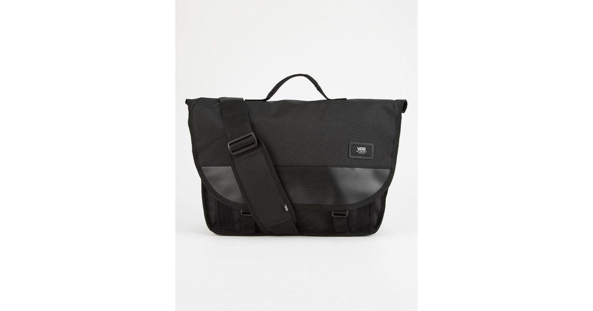 d41aba216405 Lyst - Vans Block Shoulder Messenger Bag in Black for Men