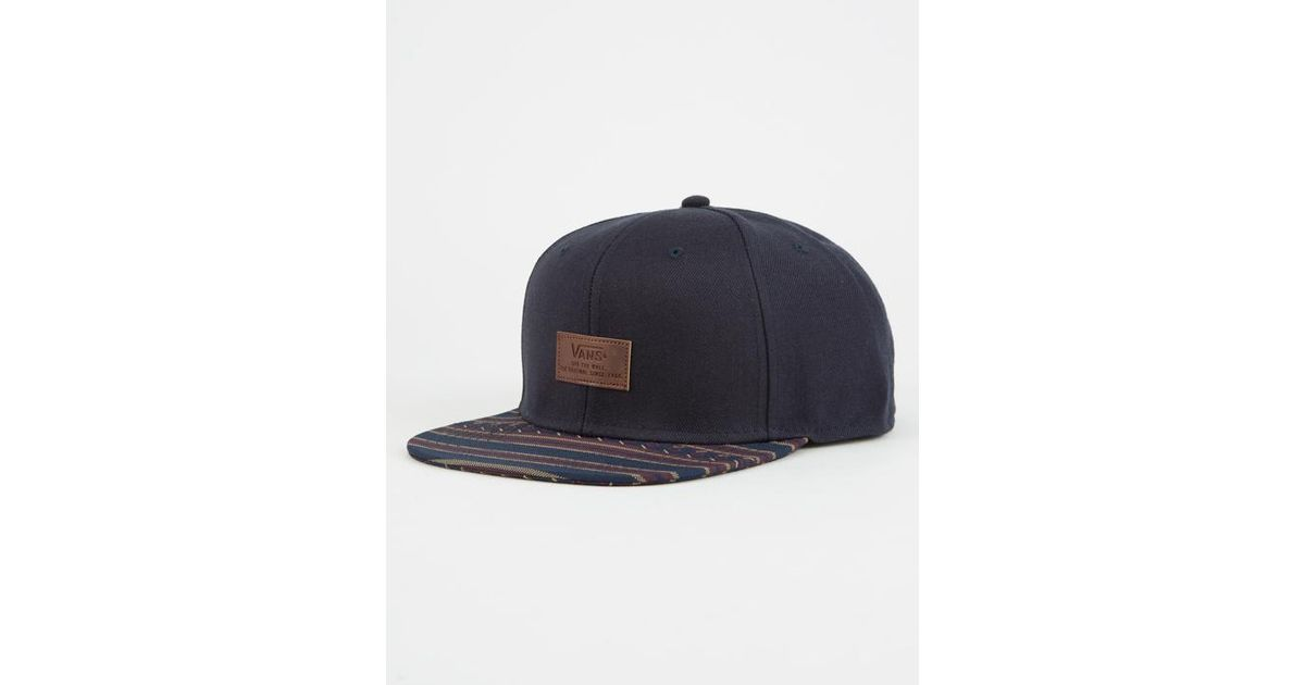 aaab427e610 Lyst - Vans Allover It Mens Snapback Hat in Blue for Men