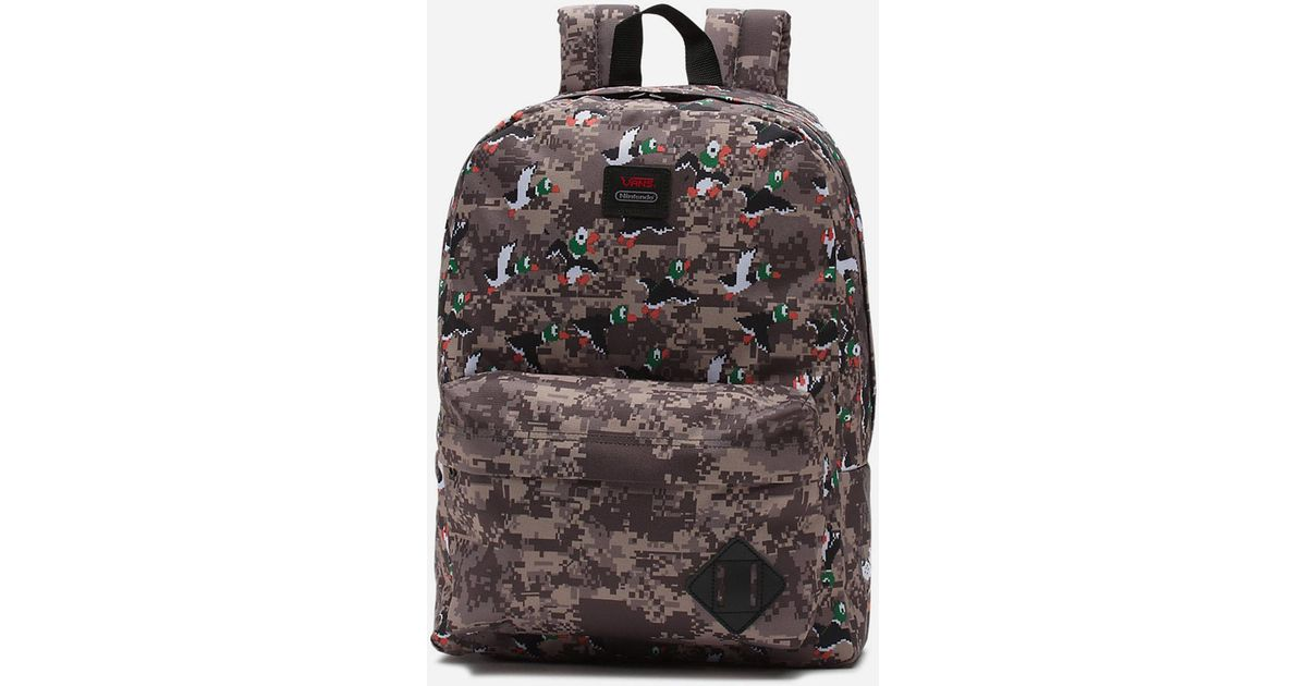 6741750c316 Vans X Nintendo Duck Hunt Old Skool Ii Backpack in Black - Lyst