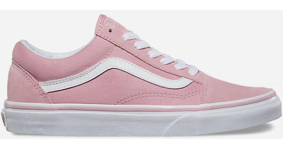 Lyst - Vans Old Skool Zephyr   True White Womens Shoes in Pink a9d2e862c