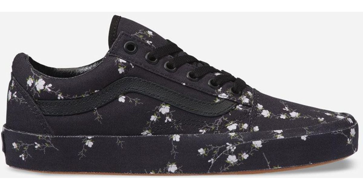 26037285dd0b4e Lyst - Vans Old Skool Midnight Floral Womens Shoes in Black