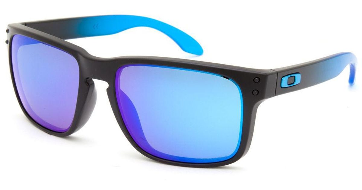 ce626ca07c sale lyst oakley holbrook prizm sapphire polarized sunglasses in blue for  men 598b5 f9f82