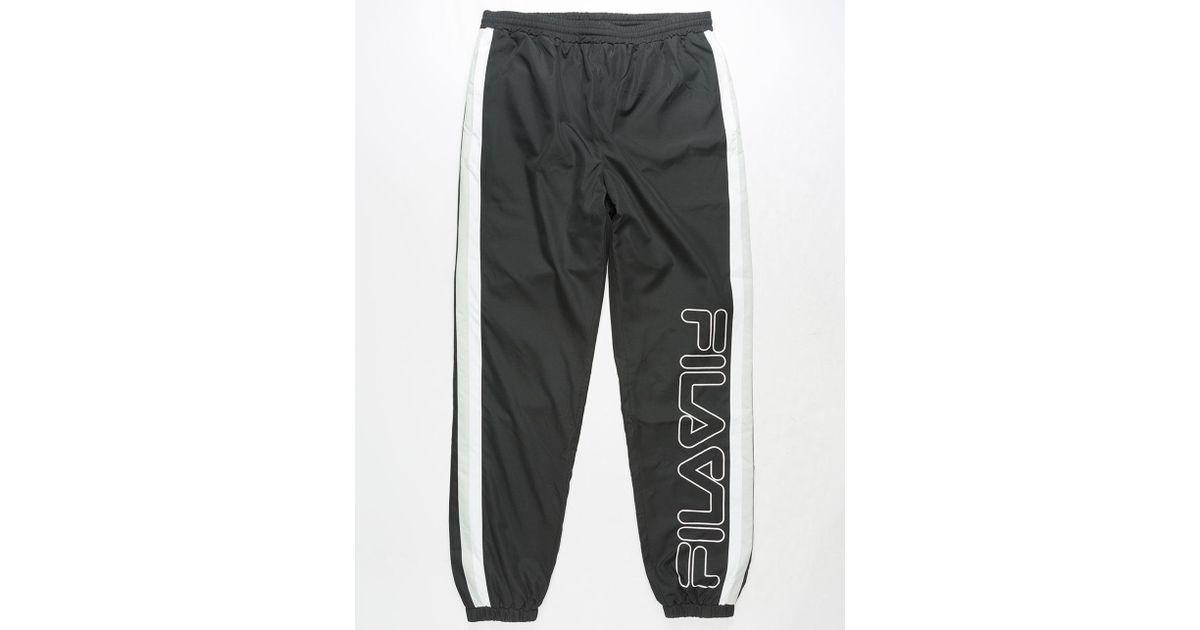 da44e491a6fa2d Lyst - Fila Samy Mens Track Pants in Black for Men