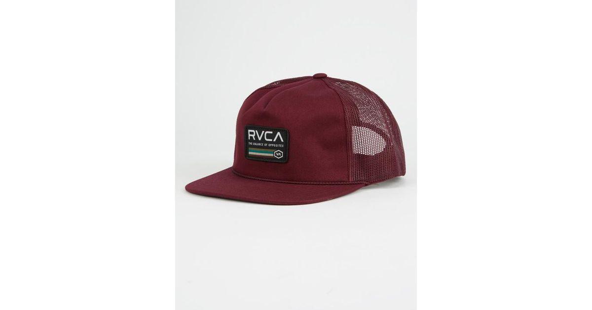 official photos e8ae1 37de6 wholesale lyst rvca mechanics mens trucker hat for men 5dc13 831c5