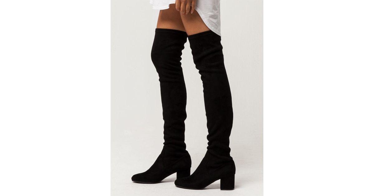 2681ddffd01 Lyst - Steve Madden Isaac Womens Boots in Black