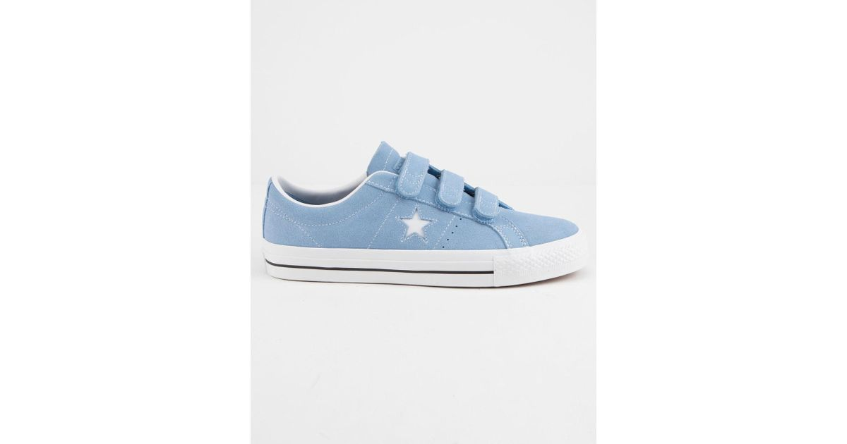 0deaa62d6ed4 Lyst - Converse One Star Pro 3v Ox Shoes in Blue for Men