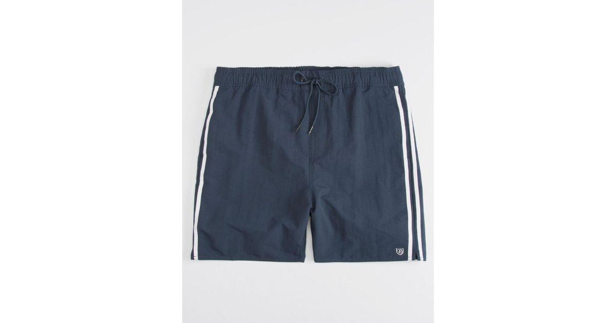 e771ef179a Brixton Santos Mens Swim Trunks in Blue for Men - Lyst