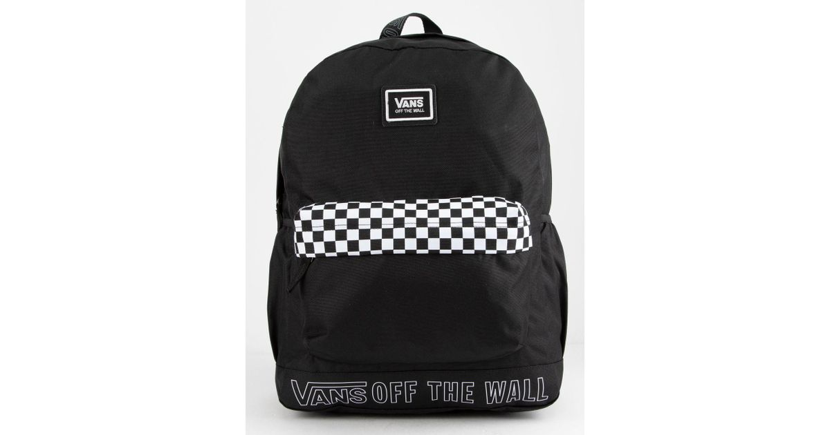 e01a023204 Lyst - Vans Sporty Realm Plus Backpack in Black for Men