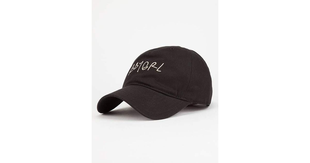 4c2069a1bc1 Lyst - Young   Reckless Bbygrl Dad Hat in Black for Men