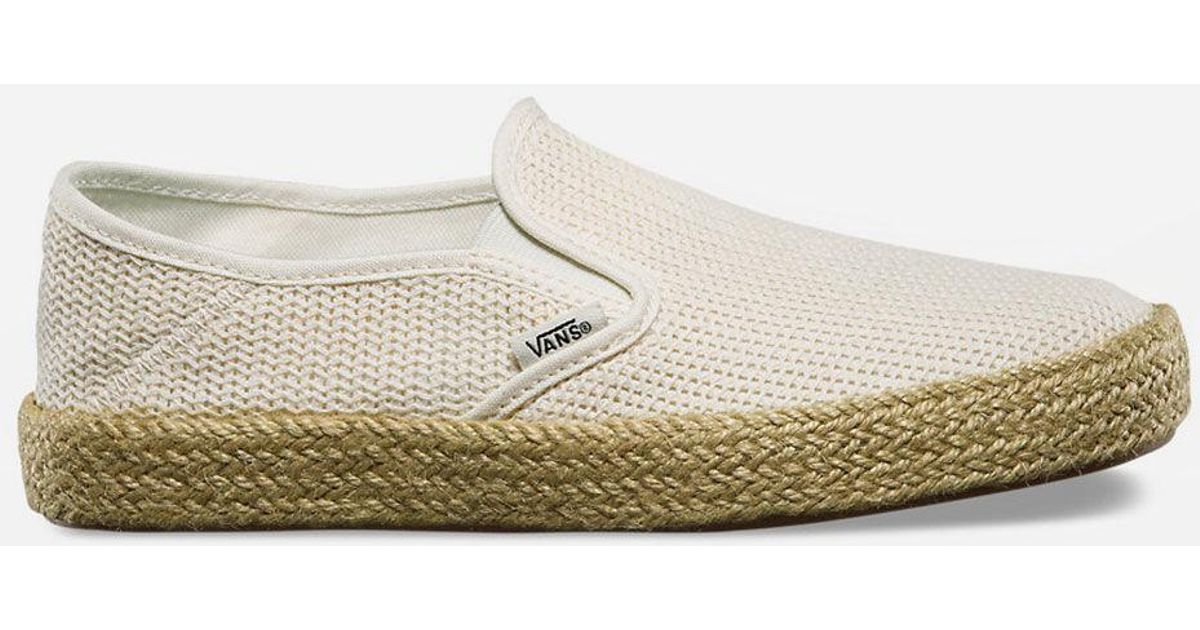 8fbe3bb892e4e6 Lyst - Vans Esp Womens Slip-on Shoes