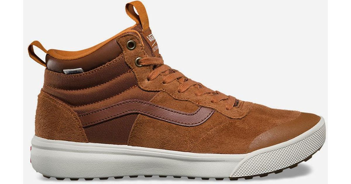 Lyst - Vans Ultrarange Hi Mte Mens Shoes in Brown for Men 771c6f3c5