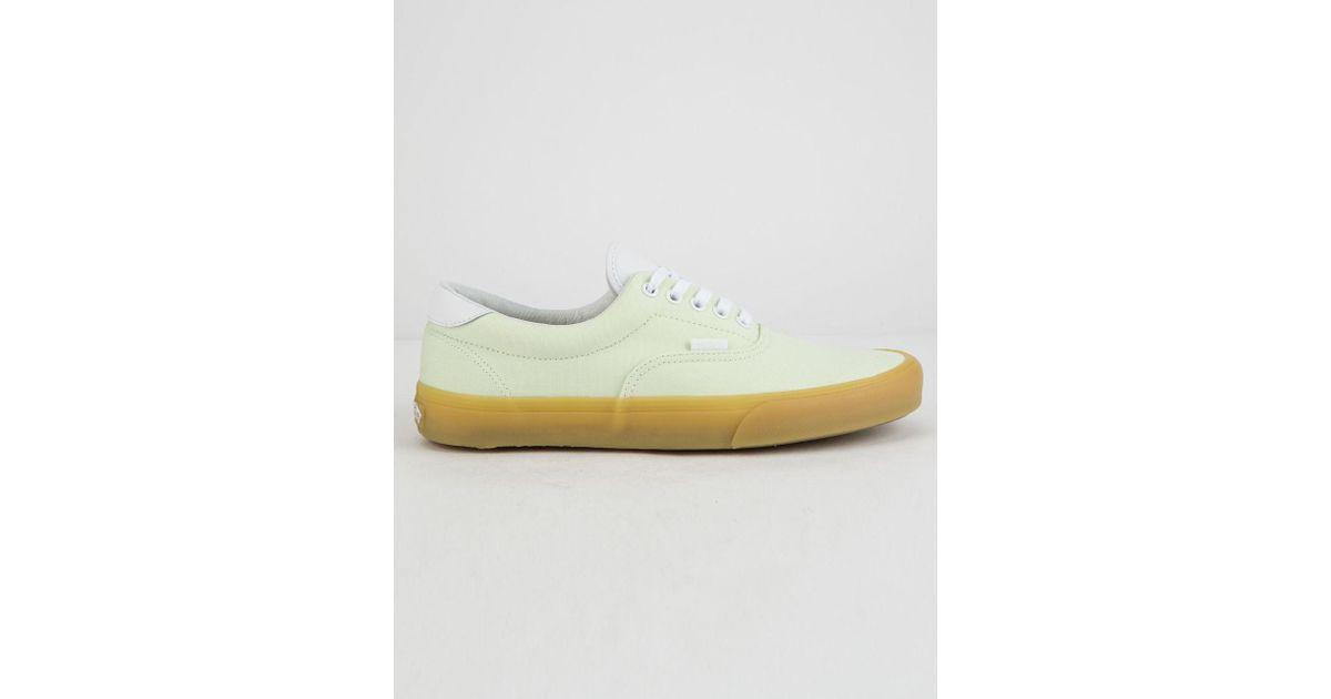 8dba464267d2 Lyst - Vans Double Light Gum Era 59 Shoes in Green for Men