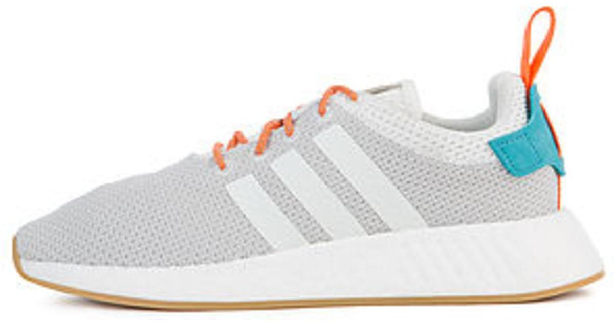 08d3e328a60f4 Lyst - adidas The Nmd R2 Summer In White