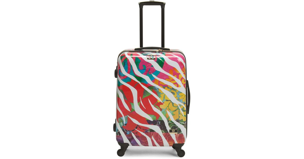 01d85d14e Tj Maxx 24in Bee Ser Reflect Hardside Spinner in Red - Lyst