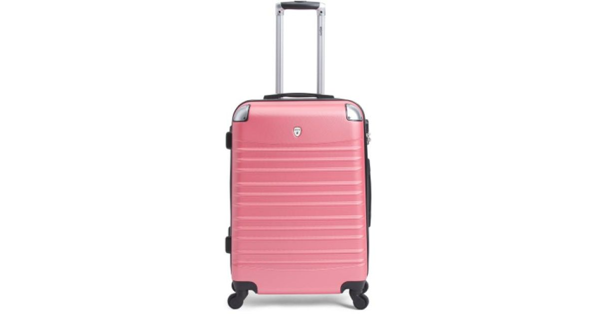 033cd2d49 Tj Maxx 24in Hardside Spinner Luggage in Pink - Lyst