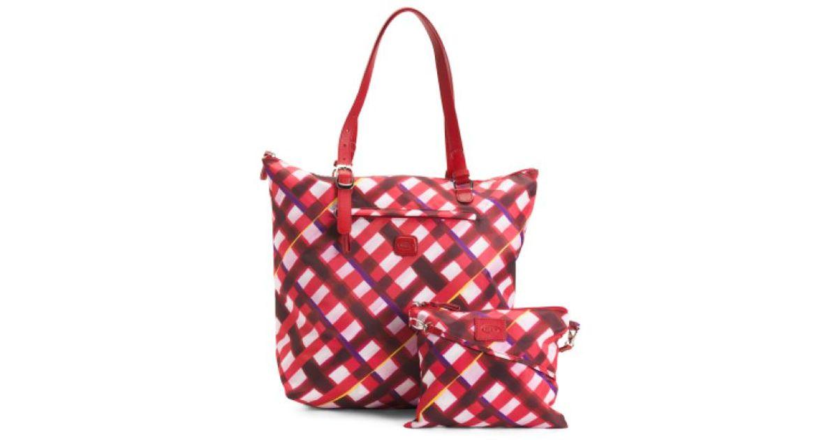 6b4c1c6e295 Tj Maxx - Red Pastello Large Sportina 3-way X-bag Shopper - Lyst