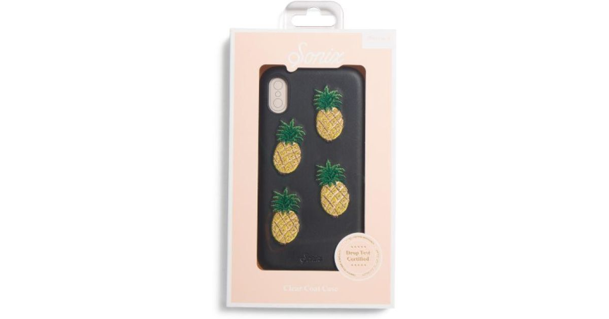 new styles 5e486 b4adf Tj Maxx - Multicolor Pineapple Leather Phone Case For Iphone X - Lyst