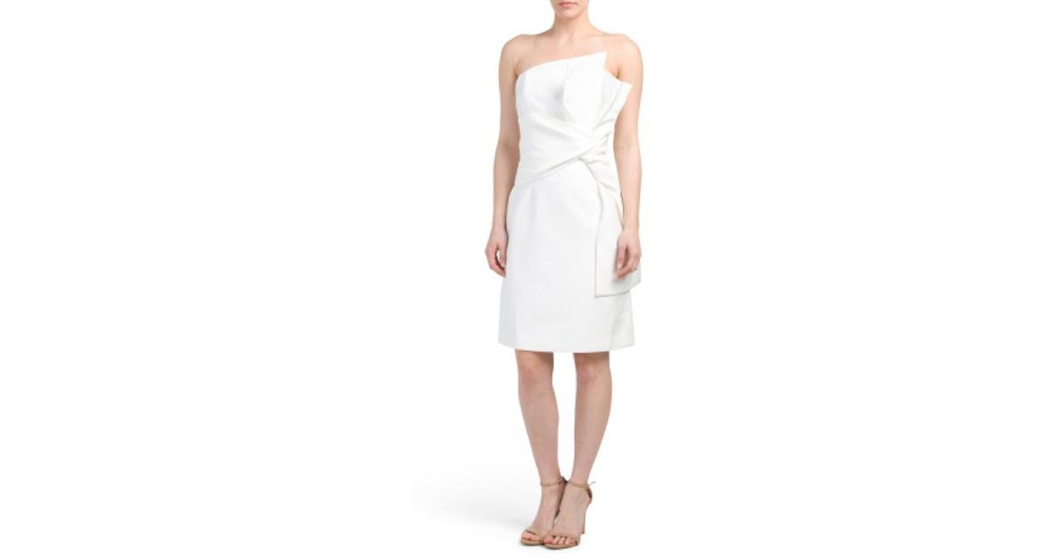 Lyst Tj Maxx Retrograde Mini Dress In White