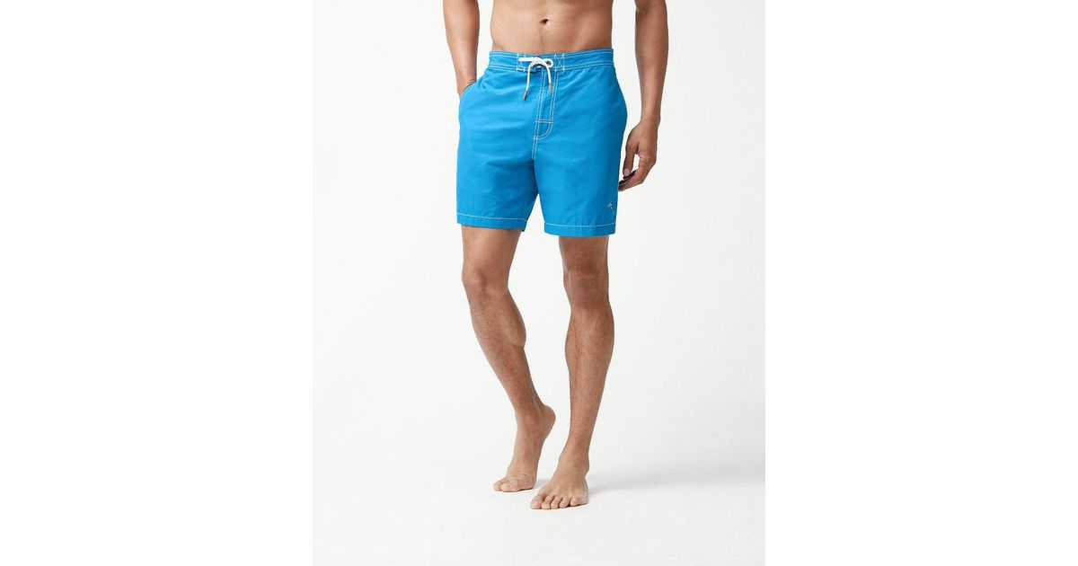 3fd6ce0a68 Lyst - Tommy Bahama Baja Sands 7-inch Board Shorts in Blue for Men