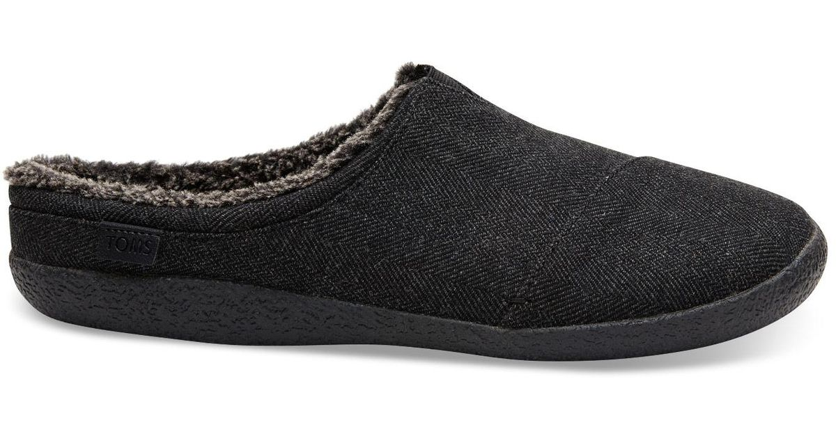 20d4a8ab5e5c Lyst - TOMS Black Woolen Men s Berkeley in Black for Men