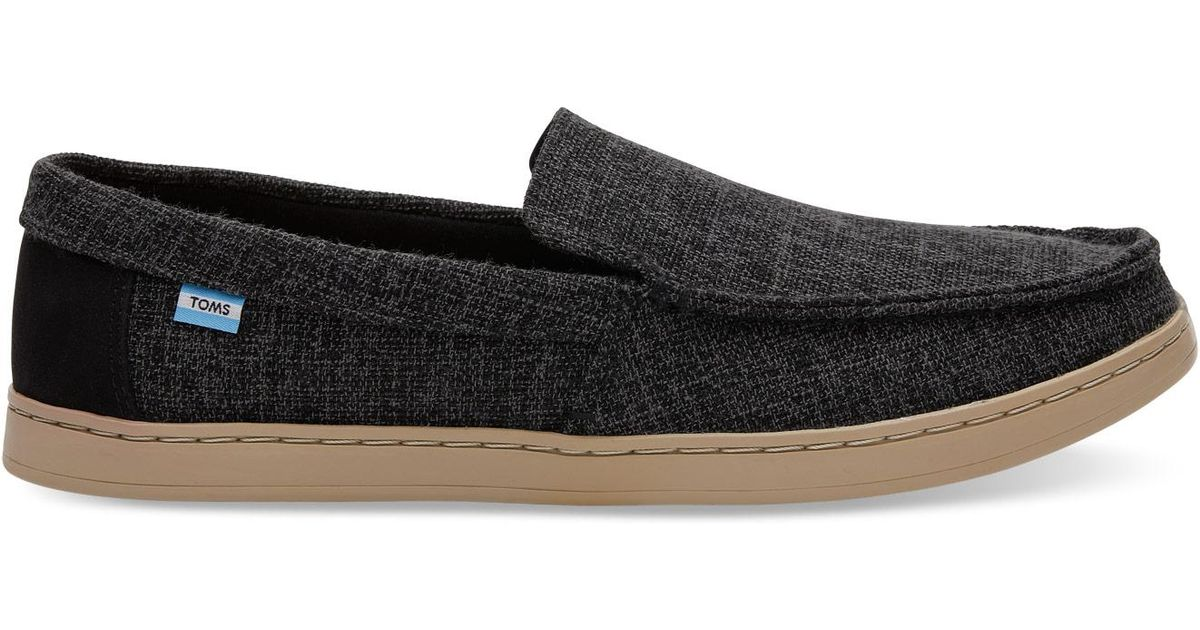 463cf51b0c6 Lyst - TOMS Forged Iron Grey Two Tone Woven Men s Aiden Slip-ons in Gray  for Men