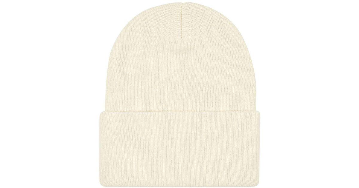 35ea3232fe6 Lyst - TOPMAN White Snowdrop Skater Beanie in White for Men