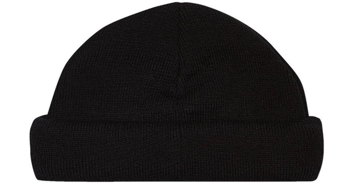 Lyst - TOPMAN Black Mini Roll Beanie in Black for Men 3ac43b4f1be
