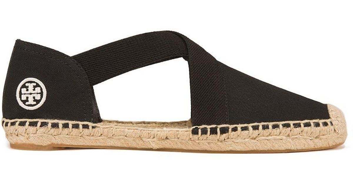 a88009283f8 Lyst - Tory Burch Catalina Espadrille Sandal in Black