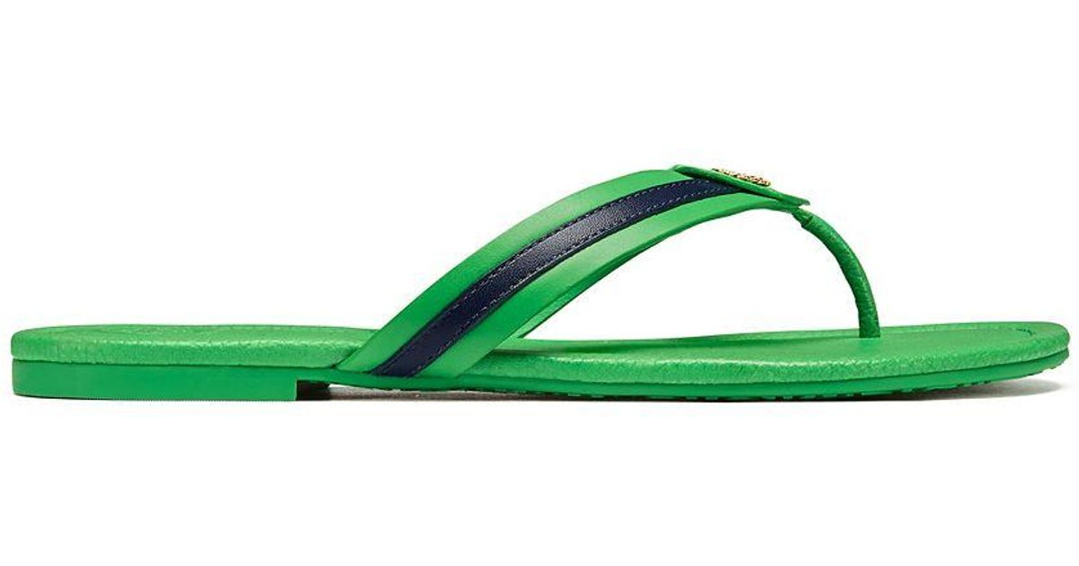 00804507c58 Lyst - Tory Burch Maritime Thong Sandal in Green
