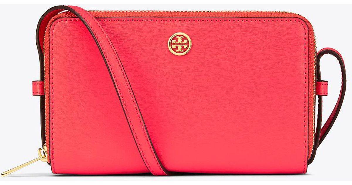 58428d028ad1 Tory Burch Parker Double-zip Mini Bag - Lyst